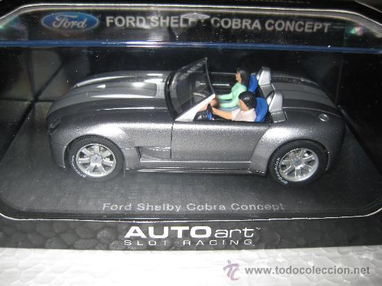 FORD SHELBY COBRA CONCEPT DE AUTO ART (Juguetes - Slot Cars - Magic Cars y Otros)
