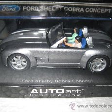Slot Cars: FORD SHELBY COBRA CONCEPT DE AUTO ART. Lote 170348364