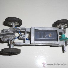 Slot Cars - STROMBECKER -CHASIS + MOTOR LARGO GRIS+ RUEDAS - AÑOS 60 - 24H LE MANS - VINTAGE SLOT CAR - 36914729