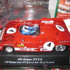Slot Cars: ALFA ROMEO 33TT12 Nº 4 DE SLOT RACING COMPANY - SRC. Lote 234904985