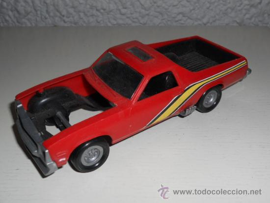 Chevy pickup dragster muscle car - maqueta 1/32 - Vendido en