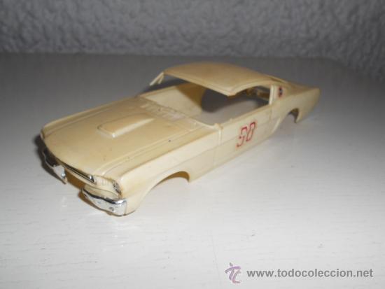 ELDON 1/32 - CARROCERIA FORD MUSTANG - AÑOS 60 - MUSCLE CAR - VINTAGE SLOT  CAR
