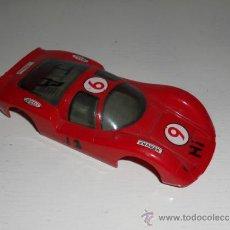 Slot Cars: ELDON 1/32 - CARROCERIA PORSCHE CARRERA - AÑOS 60 - 24H LE MANS - VINTAGE SLOT CAR. Lote 36975450