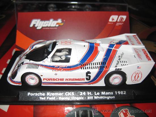 PORSCHE KREMER CK5 DE LE MANS 82 DE FLYSLOT (Juguetes - Slot Cars - Magic Cars y Otros)