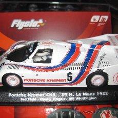 Slot Cars: PORSCHE KREMER CK5 DE LE MANS 82 DE FLYSLOT. Lote 194777425