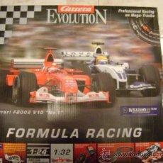 Slot Cars: CARRERA EVOLUTION 25303 SUPER FORMULA RACING, SLOT, SIMILAR SCALEXTRIC. Lote 37141553