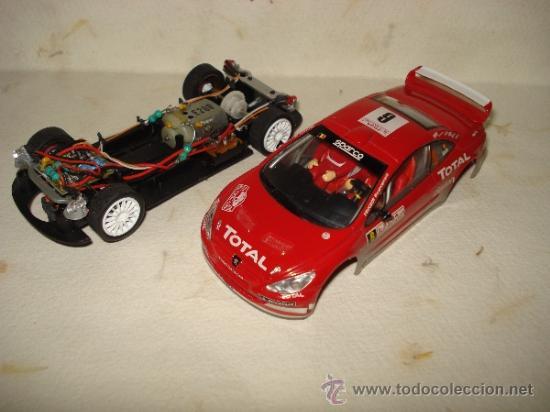 Slot Cars: PEUGEOT 307 WRC Efecto Barro RALLY MONTECARLO 2004 DE CARRERA - Foto 9 - 37823522