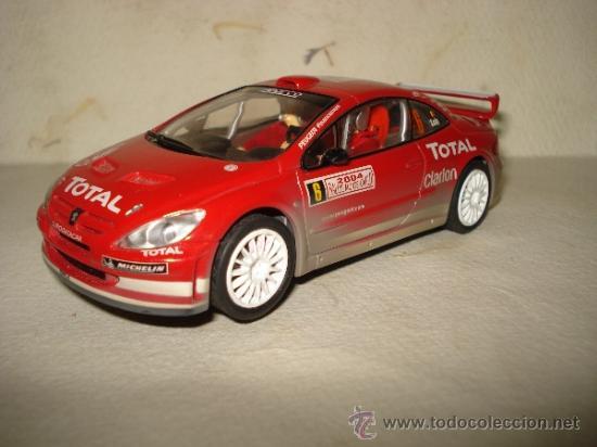 Slot Cars: PEUGEOT 307 WRC Efecto Barro RALLY MONTECARLO 2004 DE CARRERA - Foto 2 - 37823522