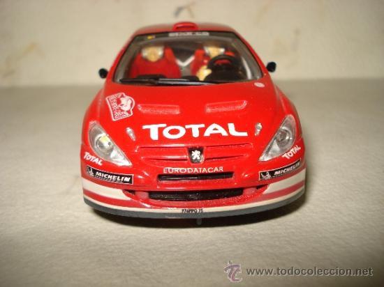 Slot Cars: PEUGEOT 307 WRC Efecto Barro RALLY MONTECARLO 2004 DE CARRERA - Foto 4 - 37823522