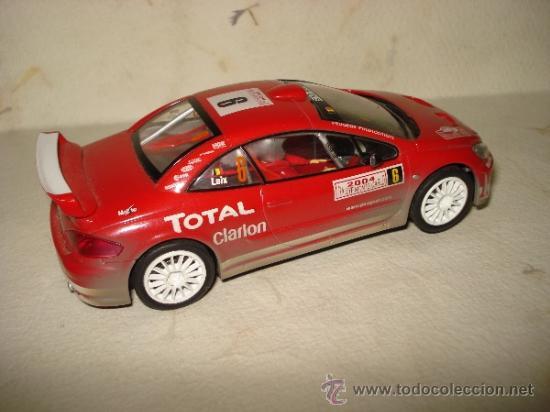 Slot Cars: PEUGEOT 307 WRC Efecto Barro RALLY MONTECARLO 2004 DE CARRERA - Foto 3 - 37823522