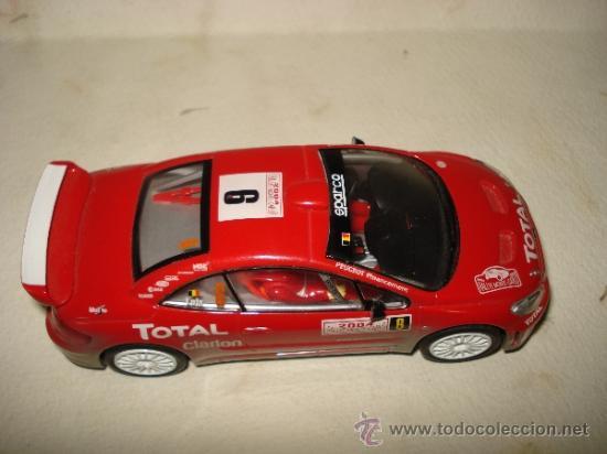 Slot Cars: PEUGEOT 307 WRC Efecto Barro RALLY MONTECARLO 2004 DE CARRERA - Foto 6 - 37823522