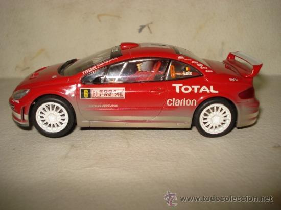 PEUGEOT 307 WRC EFECTO BARRO RALLY MONTECARLO 2004 DE CARRERA (Juguetes - Slot Cars - Magic Cars y Otros)
