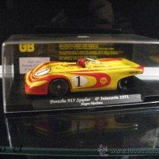 Slot Cars: COCHE SCALEXTRIC PORSCHE 917 SPYDER JURGEN NEUHAUS INTERSERIE 1971. Lote 38539104