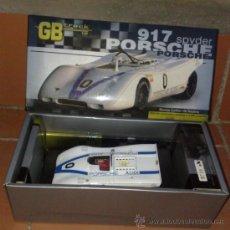 Slot Cars: FLY GB TRACK GB8 PORSCHE 917 SPYDER SOLO 2500 UNIDADES NUEVO EN CAJA !!. Lote 38599960