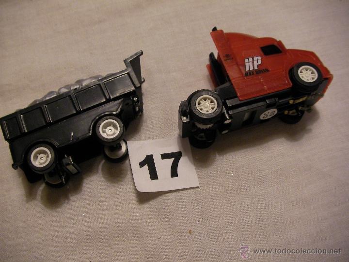 CAMION CON REMOLQUE SLOT (Juguetes - Slot Cars - Magic Cars y Otros)