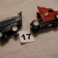 Slot Cars: CAMION CON REMOLQUE SLOT. Lote 39365966