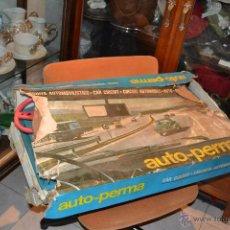 Slot Cars: CIRCUITO AUTOMOVILISTICO AUTO-PERMA. Lote 39492788