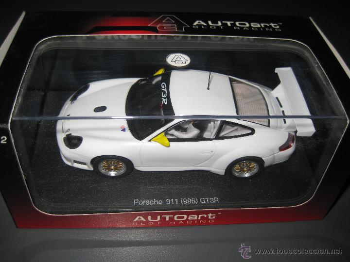 OFERTA - PORSCHE 911 (996) GT3R BLANCO DE AUTO ART (Juguetes - Slot Cars - Magic Cars y Otros)
