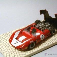 Slot Cars: SLOTER CLASSIC. LOLA T70 SPYDER. CAMPEON CAN AM 1966. JOHN SURTEES. SERIE LIMITADA 1500 03/0267. Lote 39966332
