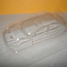 Slot Cars: AUTENTICA PRUEBA DE MOLDE EN PLASTICO TRANSPARENTE DE MITSUBISHI LANCER INEDITO SIN TAMPOGRAFIAR. Lote 40021142