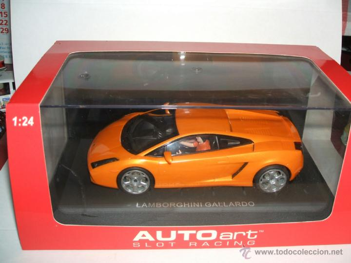 LAMBORGHINI GALLARDO DE AUTOART ESCALA 1:24 (Juguetes - Slot Cars - Magic Cars y Otros)