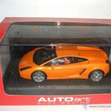 Slot Cars: LAMBORGHINI GALLARDO DE AUTOART ESCALA 1:24. Lote 40485186