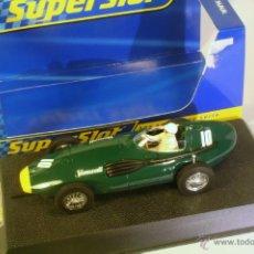 Slot Cars: SUPERSLOT VANWALL F1 1957 #10. Lote 40572288