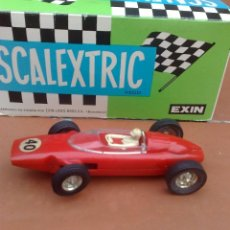 Slot Cars: FERRARI F1 ROJO MARCA JOUEF, FABRICADO EN ESPAÑA SLOT CAR. Lote 40835109