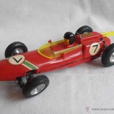 Slot Cars: COCHE SCALEXTRIC LOTUS ROJO FRANCE BOLIDE ORIGINAL AÑOS 60. Lote 41219287