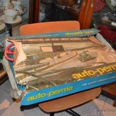 Slot Cars: CIRCUITO AUTOMOVILISTICO AUTO-PERMA. Lote 41268981