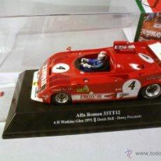 Slot Cars: SRC. ALFA ROMEO 33 TT12. 6H. WATKINS GLEN 1975. #4 DEREK BELL-HENRI PESCAROLO. Lote 41378495