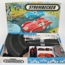 Slot Cars: STROMBECKER - FRANCE - 9940 - 9950 - CON INSTRUCCIONES Y CAJA ORIGINAL - AÑOS 60/70. Lote 41413559