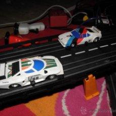 Slot Cars: CIRCUITO DE CARRERAS - CON 3 COCHES. Lote 42261400