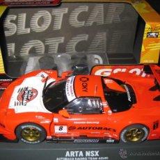 Slot Cars: HONDA NSX ROJO Nº8 DE GSLOT. Lote 47809181