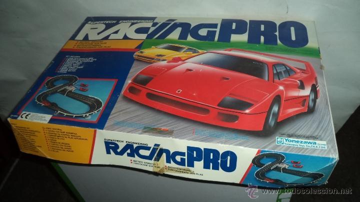 Antiguo Juego De Scalextric Racing Pro 56 Cms Buy Slot Cars