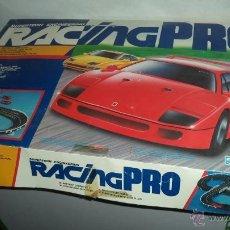 Slot Cars: ANTIGUO JUEGO DE SCALEXTRIC RACING PRO. 56 CMS. DE LARGO X 36 DE ANCHO. Lote 42463182