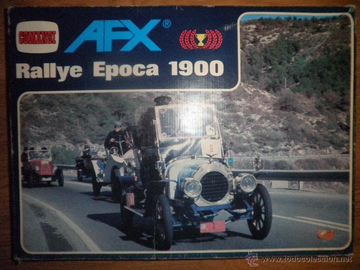 RALLYE EPOCA 1900 AFX DE COMANSI (Juguetes - Slot Cars - Magic Cars y Otros)