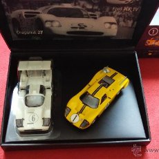 Slot Cars: MRRC SLOT RACING LE MANS 24 H 1967 RACING LEGEND COLLECTION CHAPARRAL 2F FORD MK IV. Lote 42869250