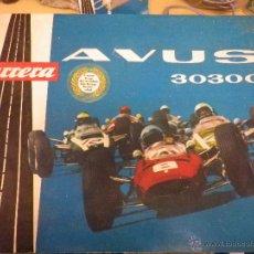 Slot Cars: CIRCUITO DE COCHES, CARRERA AVUS 30300. Lote 42888408