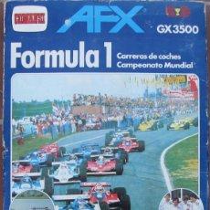 Slot Cars: ANTIGUA CAJA DE COMANSI - FORMULA 1 - AFX GX 3500 - GRAND PRIX TEAM LOTUS - CAMPEONATO MUNDIAL COCHE. Lote 43484599
