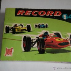 Slot Cars: PISTA DE COCHES RECORD 64 DE JOUEF. Lote 43630313