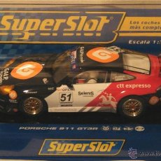 Slot Cars: SCALEXTRIC PORSCHE 911 GT3 SUPERSLOT CLUB. Lote 43872369
