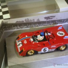 Slot Cars: SLOTER. FERRARI 312PB 2º DAYTONA 1972 #6 PETERSON-SCHENKEN. Lote 44156281
