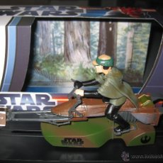 Slot Cars: OFERTA - MOTO JET STAR WARS DE LUKE SKYWALKER DE SUPERSLOT. Lote 60714765