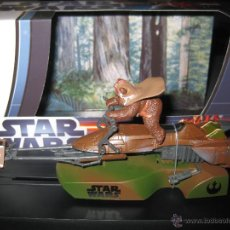 Slot Cars: OFERTA - MOTO JET STAR WARS THE EWOK SUPERSLOT. Lote 60714791