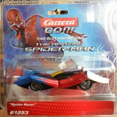 Slot Cars: SCALEXTRIC SPIDERMAN -SPIDER RACER- NUEVO. Lote 44755447