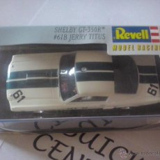 Slot Cars: REVELL MODEL RACING 2005 - COCHE SLOT FORD MUSTANG SHELBY GT 350 R PILOTO JERRY TITUS # 61 B ECH1/32. Lote 45128773