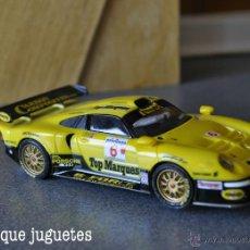 Slot Cars: PORSCHE 911 GT1 DE SCALEXTRIC. Lote 45178439