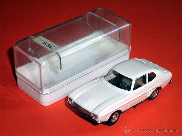 FORD CAPRI. SLOT FALLER H0, MADE IN GERMANY, ORIGINAL AÑOS 60-70. EXCELENTE (Juguetes - Slot Cars - Magic Cars y Otros)