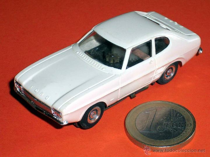 Slot Cars: Ford Capri. Slot Faller H0, made in Germany, Original años 60-70. Excelente - Foto 2 - 45440175